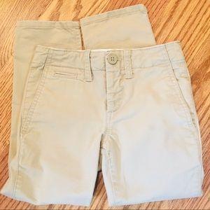 NWOT GapKids Adjustable Waist Khaki Pants